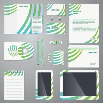 Brand identity company style template