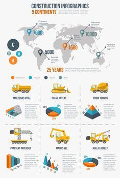 Construction infographics