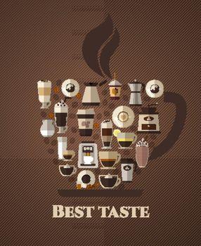 Coffee best taste poster