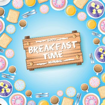 Colorful Breakfast Template