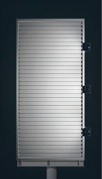 Blank Advertising Vertical Billboard