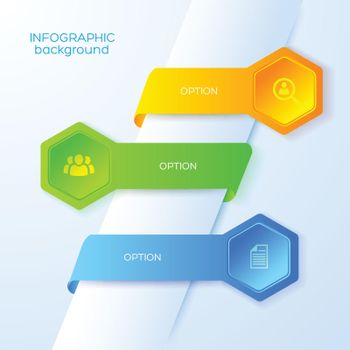Business Abstract Infographics