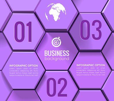 Business Geometric Infographics