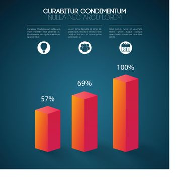 Abstract Business Infographic Concept