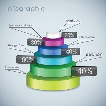 Business 3d Diagram Template