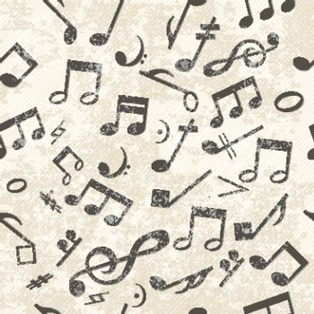 Colorful Music Pattern