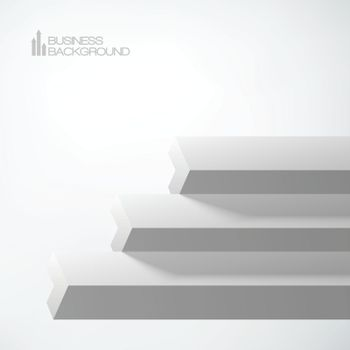 3D Arrows Staircase Business Object