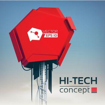 High-Tech Production Design Concept