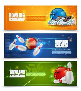 Bowling Banners Set