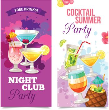 Cocktails Party Banners