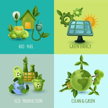 Ecology Design Concept Set