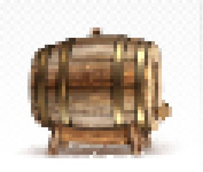 Wooden barrel for wine or beer or whiskey clipart