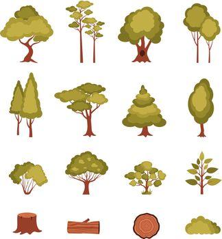 Forest Elements Set