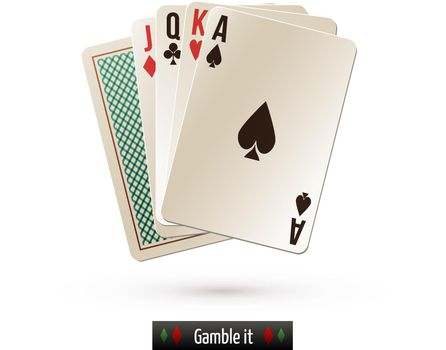 Game card isolated