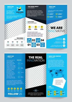 Flyer Trasparent Design