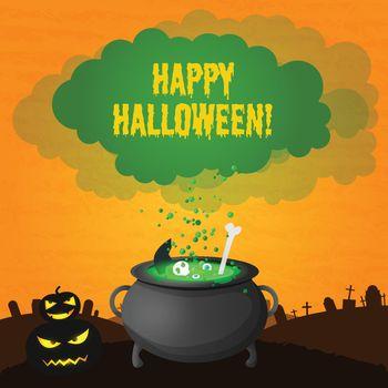 Festive Happy Halloween Template