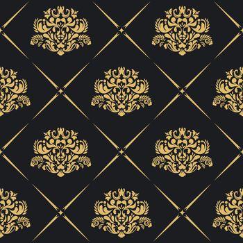 Floral royal background pattern