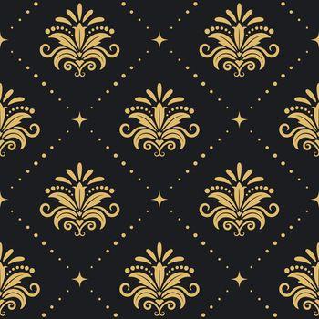 Floral royal background