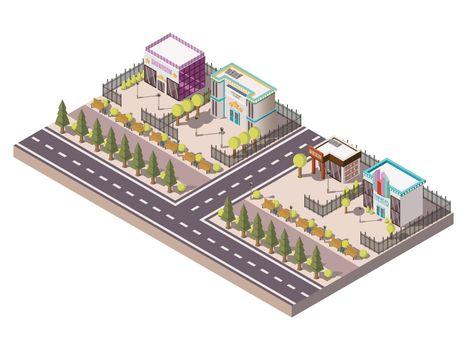 Entertainment Places Concept