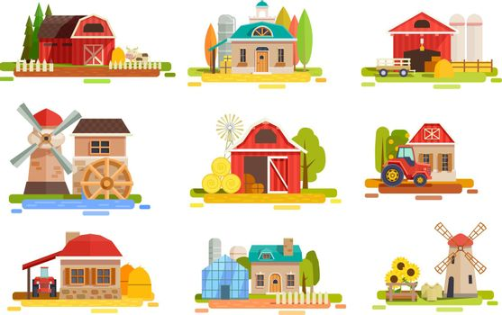 Farm Flat Scenery Collection