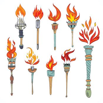 Torch icon sketch