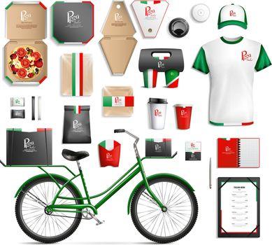 Fastfood Packaging Template Set
