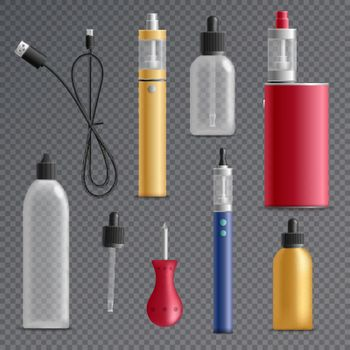 Electronic Cigarette Elements Collection