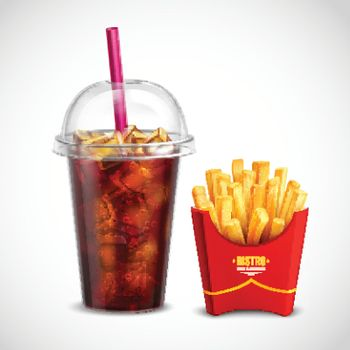 French Fries And Coca Cola