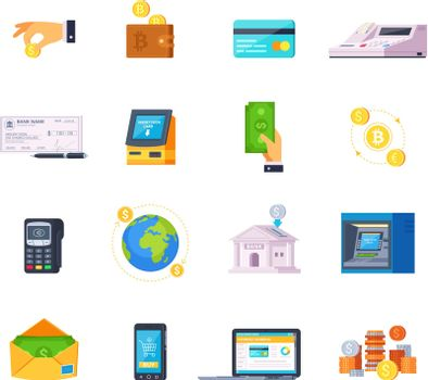 Financial Technology Icons