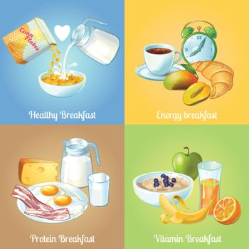 Four Breakfast Compositions