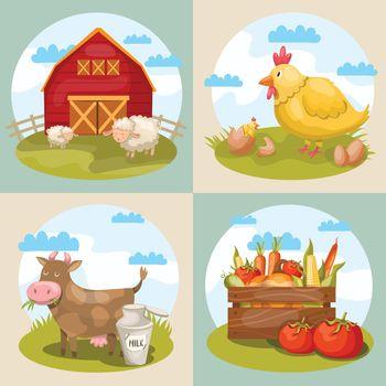 Farming Compositions Set