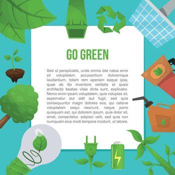 Ecology Flat Poster