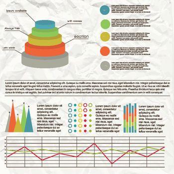 Flat Chart Infographic