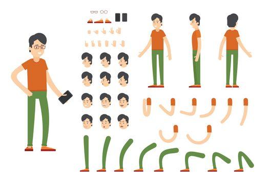 Flat Character Creation Set