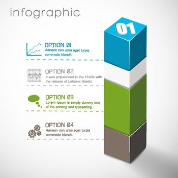 Geometric Composition Infographics