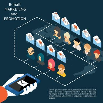 Email marketing and promotion app