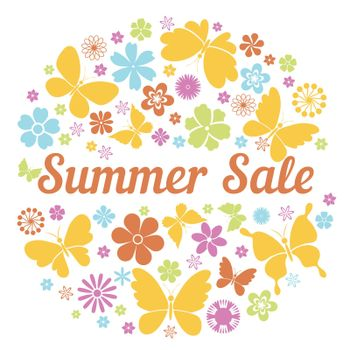 summer sale badge