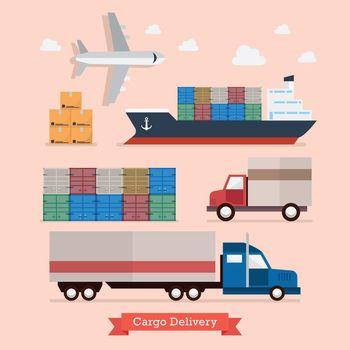 Set of Cargo Transportation
