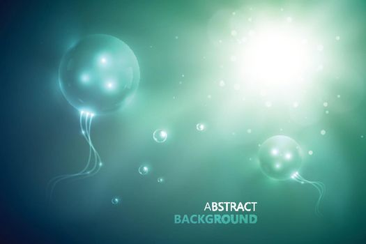 Futuristic Abstract Template