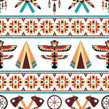 Ethnic border pattern design