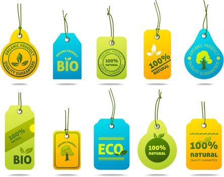 Ecology Cardboard Labels