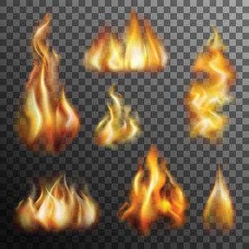 Fire Transparent Set