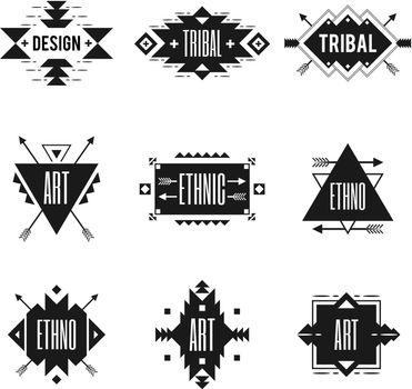 Ethnic Logo Set