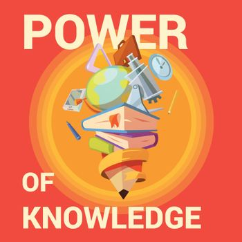Education cartoon poster
