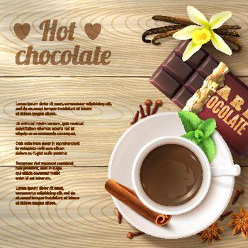 Hot Chocolate Background