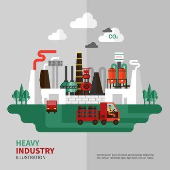 Heavy Industry Illustration