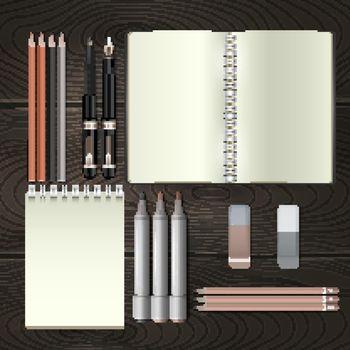 Business Mockup Illustration