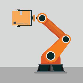Industrial mechanical robotic arm