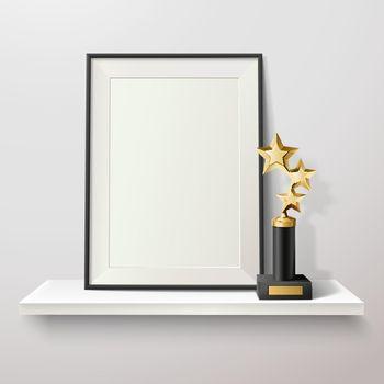 Trophy And Frame Illustration
