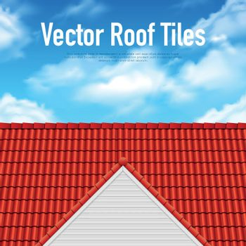 House Roof Tile Poster